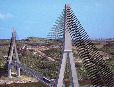 USD 35 millones gastarán en obras paralelas del puente