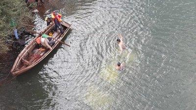 Piden refuerzos para continuar búsqueda de desaparecido en río Yguazú