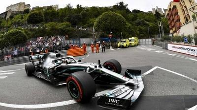 HOY / F1: Hamilton gana el Gran Premio de Mónaco desde la 'pole'