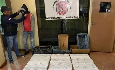 HOY / Incautan 75 kg de dinamita en gel en Pedro Juan Caballero: carga sería para PCC