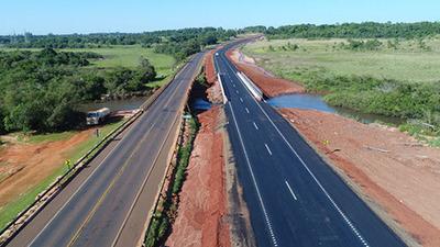 Habilitan la totalidad de la duplicación de Ruta 7 desde Caaguazú hasta Minga Guazú