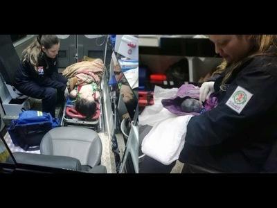 CON AYUDA DE BOMBEROS, MUJER DIO A LUZ EN SU CASA