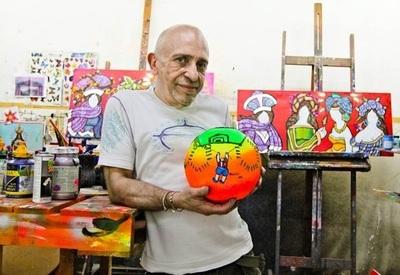 Piden ayuda para artista plástico Ricardo Migliorisi