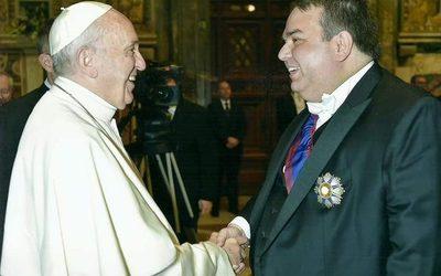 Paraguayo es miembro honorario de la Pontificia Academia Mariana Internacional