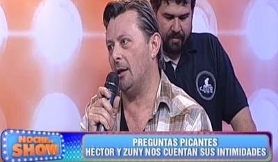 Héctor Ramos contó que tuvo sexo en un yuyal