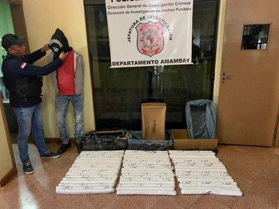 Trasladan dinamita a Asunción