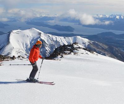 Actividades en la nieve en Bariloche