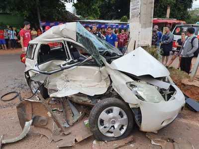 Dos fallecidos en Capiatá tras accidente de tránsito