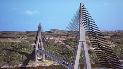 Afectados por construcción del segundo puente piden indemnización o reubicación