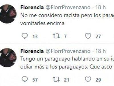 """Joven argentina dijo que """"odia"""" a los paraguayos por hablar guaraní"""
