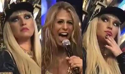 "HOY / Sigue el troce 'tatatata': Reflotan ""shakiresco"" debut como cantante de Jessica en el Baila"