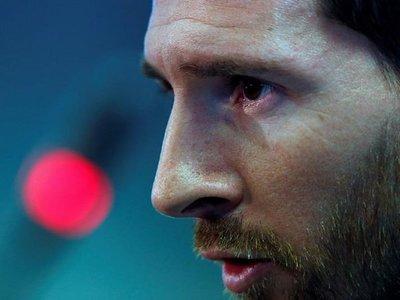 Messi llega a Argentina para preparar la Copa América de Brasil
