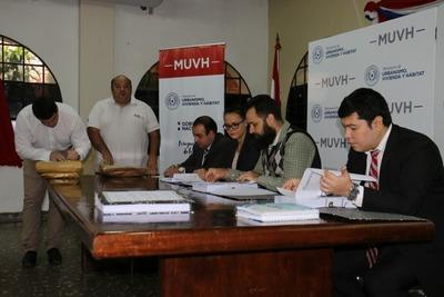 Ministerio recibió ofertas para concluir 320 viviendas en comunidades indígenas