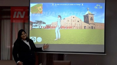 PRESENTAN PRIMER RECORRIDO VIRTUAL EN LA MISIÓN JESUÍTICA DE TRINIDAD