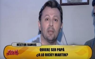 Héctor Ramos respondió preguntas sobre su sexualidad