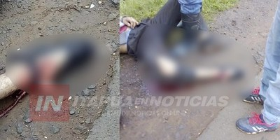 FALLECE MOTOCICLISTA ACCIDENTADO HOY SOBRE RUTA N° 6