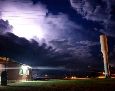 Alerta por tormentas para cuatro departamentos