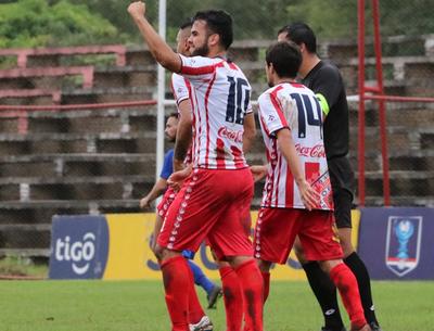 Ovetense golea a Colonial en su debut en la Copa Paraguay