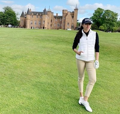 Wendy Cheng en Escocia