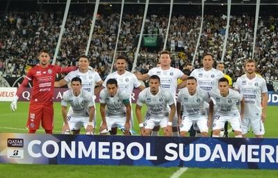 Sol cae ante Botafogo y se despide de la Sudamericana
