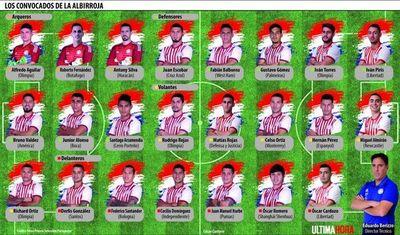 Los 23 convocados de la Copa América