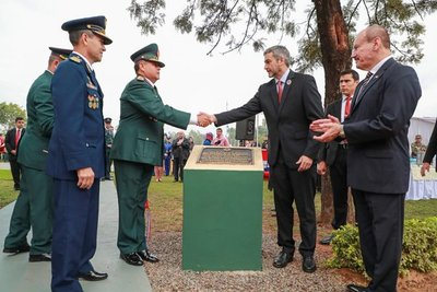 Comando Logístico conmemora 39 aniversario