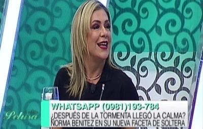 Norma, ex de Gamarra, reveló que fue violenta por celos