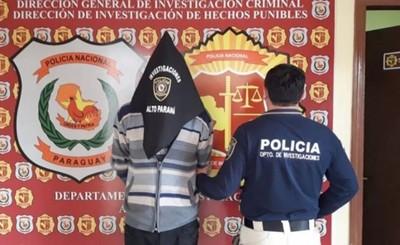 Cae en Santa Ana hombre buscado en Caaguazú