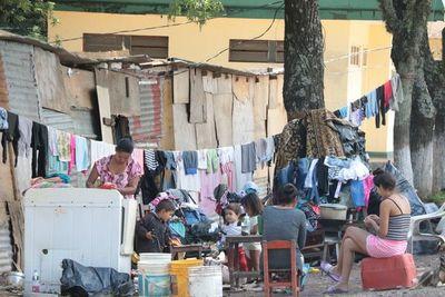 Hay 13.500 menores y 778 embarazadas en refugios de Asunción