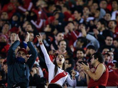 River Plate acostumbra a su hinchada a tomar las calles de Buenos Aires