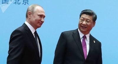 China niega que contactos de Xi y Putin estén relacionados con guerra comercial con EEUU
