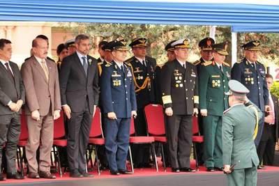 Gabinete Militar de la Presidencia festeja 75 aniversario
