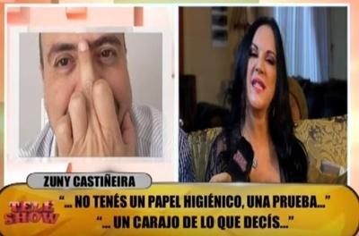 "Zuni Castiñeira trató de ""muerto"" y ""energúmeno"" a Piquito Salinas"