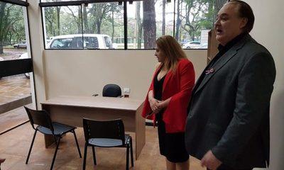 Inauguran oficinas parlamentarias en la Gobernación