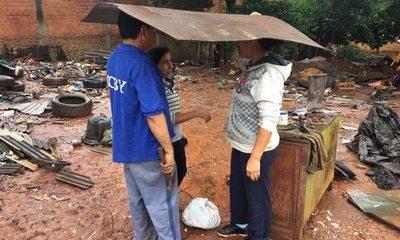 Familia apela a la solidaridad tras desalojo