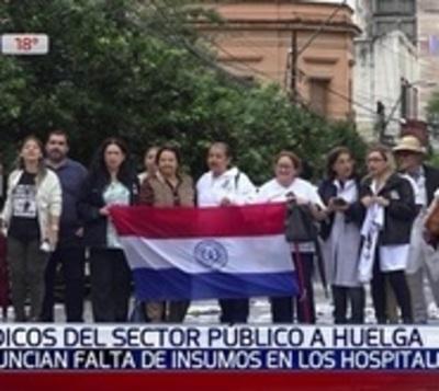 Médicos acuerdan ir a huelga general