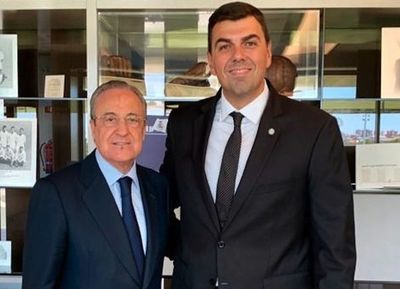 Marco Trovato visitó Real Madrid