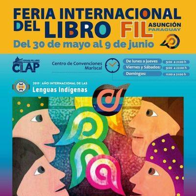 Atractivos para hoy en la Feria Internacional del Libro Asunción 2019