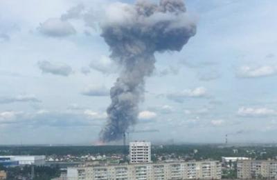Explosiones en una fábrica de munición dejan 42 heridos en Rusia