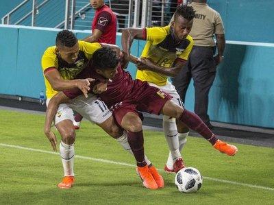Ecuador iguala con Venezuela