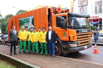 Franqueños tienen nueva empresa recolectora de basura