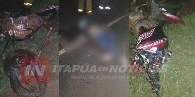 Motociclista muere tras colisionar contra automóvil