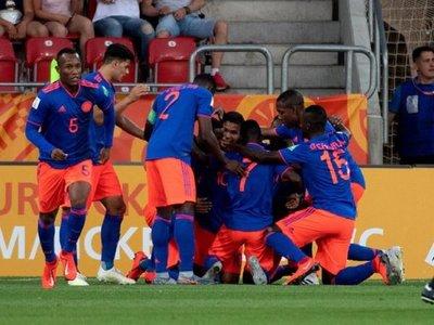 Los penales clasifican a Colombia a los cuartos del Mundial Sub 20