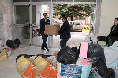 Llegaron más donaciones para la campaña solidaria
