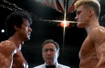 Stallone reveló que 'odió de inmediato' a Dolph Lundgren en el rodaje de Rocky IV