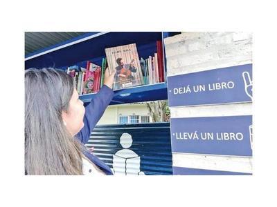 Bibliotecas callejeras van tomando impulso en localidades del país