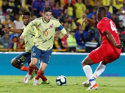 Colombia golea y su ofensiva convence previo a la Copa América