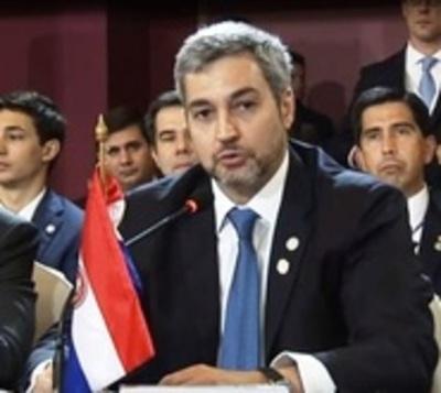 Mario Abdo celebra fallo a favor de Paraguay de la CIDH