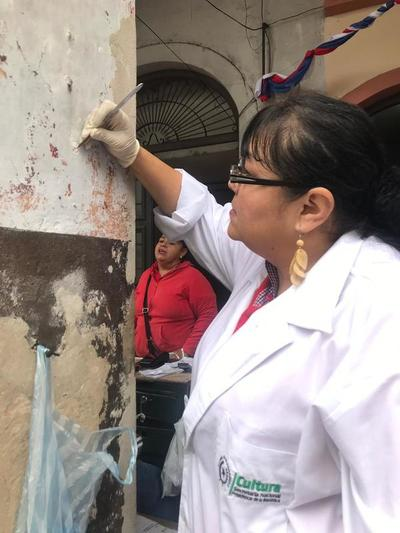 Cultura realiza relevamiento de datos del antiguo edificio de La Recova