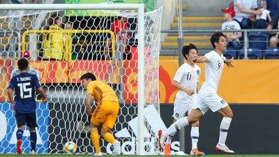 Corea del sur vence a Japón por la mínima y se instala en los cuartos de final